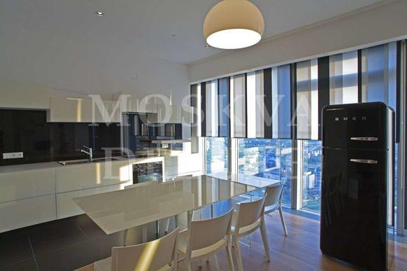 Фотографии апартаментов на 53-м этаже небоскреба «Город Столиц» в ММДЦ «Москва-Сити»