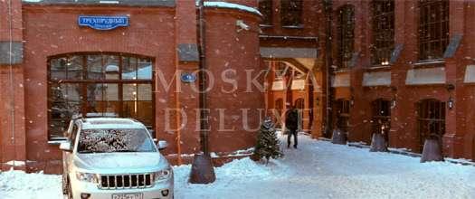 Элитное жилье в российском кино, офисы в стиле лофт - бизнес-комплекс «Трехпрудный»