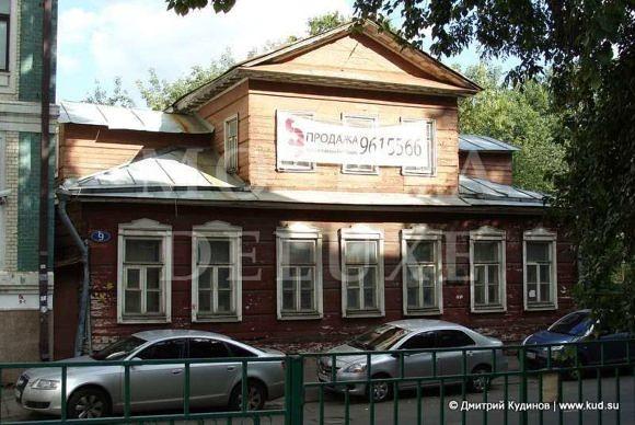Квартиры в деревянных домах Москвы - Голиковский переулок, дом 9