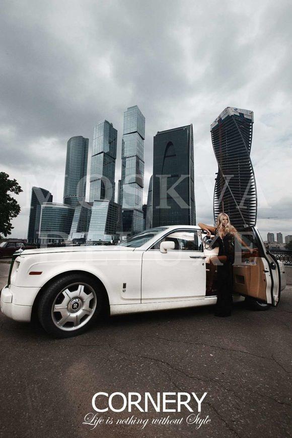 Москва-Сити в фотосете «All White» от Cornery Deluxe