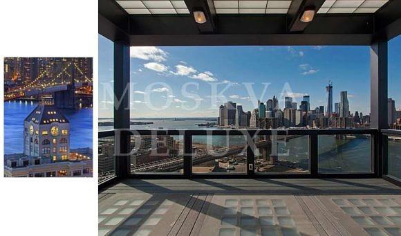 Пентхаус в башне с часами в Бруклине (Нью-Йорк)