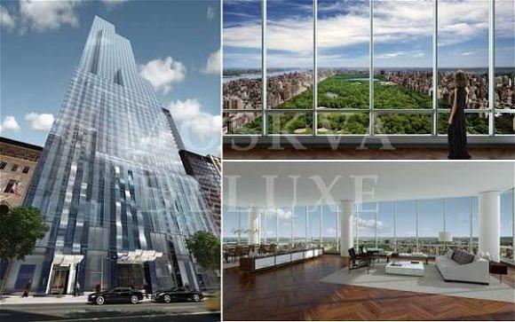 Самая дорогая новостройка в мире — One57 в Нью-Йорке