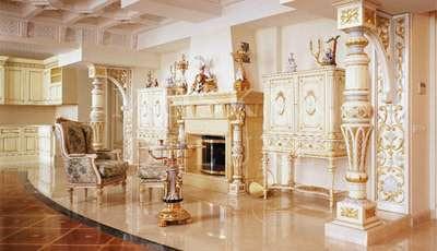 Золотые квартиры Москвы - интерьеры из золота