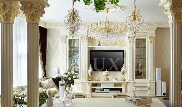 Элитные квартиры из золота, квартира «В золотой оправе», автор проекта: KASHUBA-DESIGN