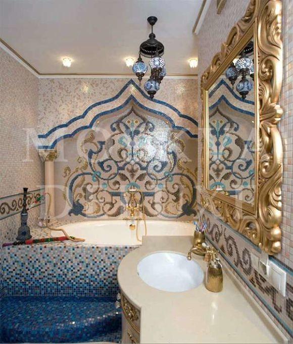 золотые квартиры Москвы, реальная квартира от архитектурного бюро Александры Федоровой