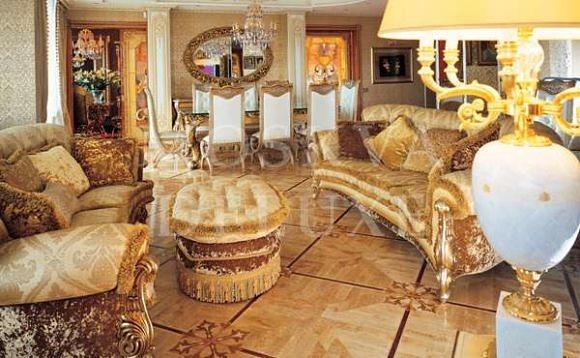 Элитные квартиры из золота от дизайн-бюро Марины Путиловской
