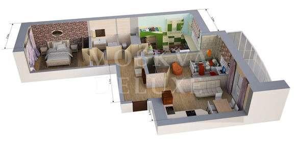 Трехкомнатные квартиры – самый популярный формат на рынке элитного жилья
