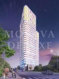 Строительство «Штаб квартиры на Мосфильмовской»