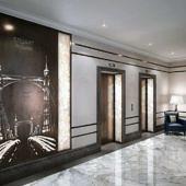 Интерьерный дизайн лифтовых кабин: Schindler 5500