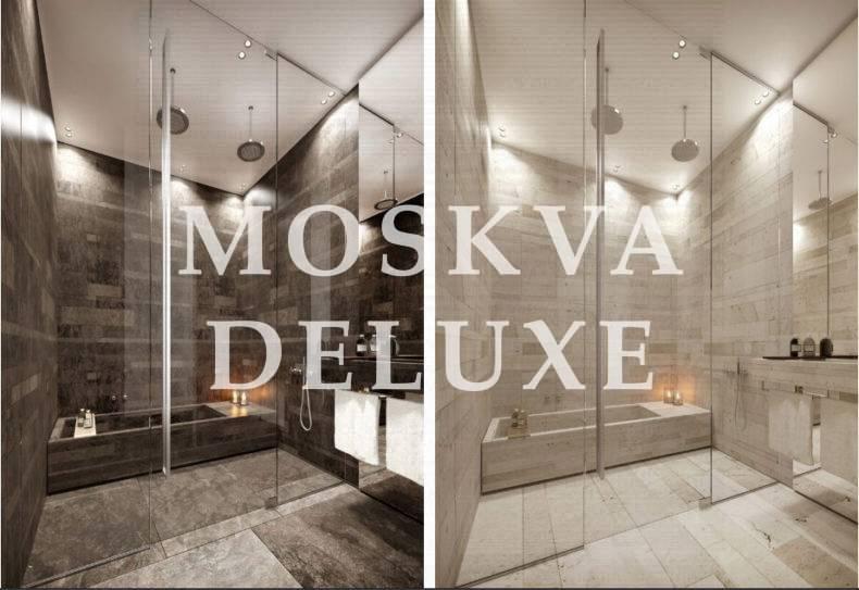 Фото вариантов интерьера ванной жилого комплекса Роза Росса