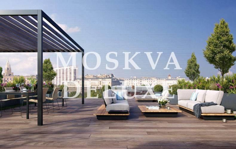 Фото терассы жилого комплекса Роза Росса
