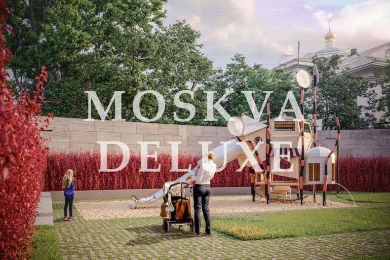 Фото детской площадки ЖК НВ9 Артквартал