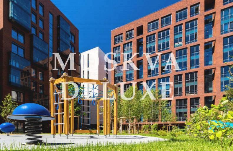 Фото детской площадки жилого комплекса Садовые кварталы