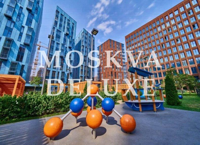 Фото детской площадки ЖК Садовые кварталы