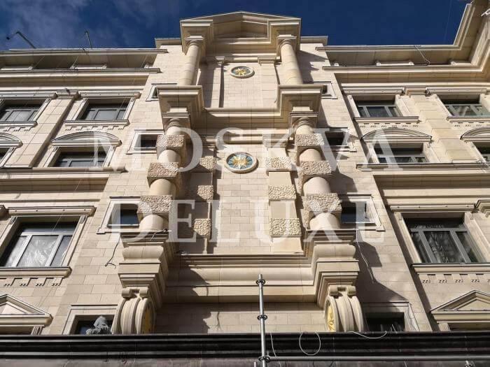 Фото фасада жилого комплекса Astris