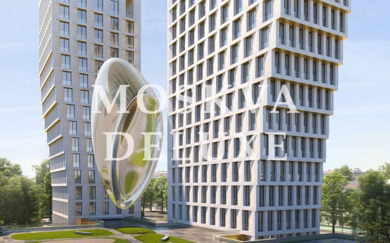 Фото арт объекта жилого комплекса White Khamovniki
